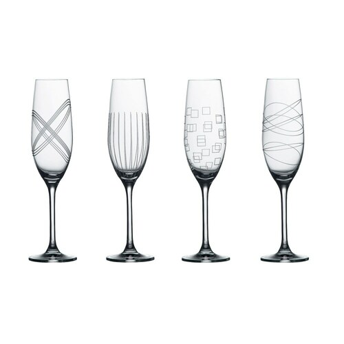Royal Doulton Party Sets - Flutes - Set of 4