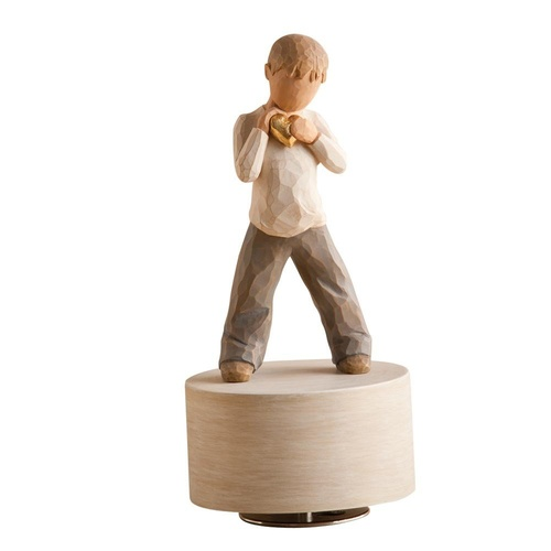 Willow Tree Musical Figurine - Heart of Gold