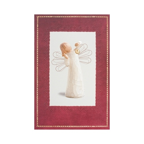 Willow Tree Christmas Card - Angel of Wonder