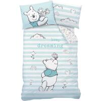 Disney Winnie The Pooh Quilt Cover Set - Single - Butterfly