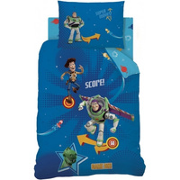 Disney Toy Story Quilt Cover Set - Single - Pinball