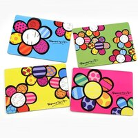Romero Britto - Cork Back Placemats - Flowers