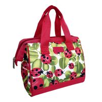 Sachi Insulated Lunch Tote - Lady Bugs