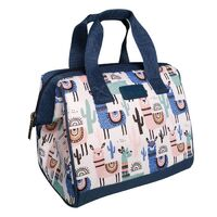 Sachi Insulated Lunch Tote - Llamas