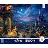 Thomas Kinkade Disney 1500pc - Beauty and the Beast