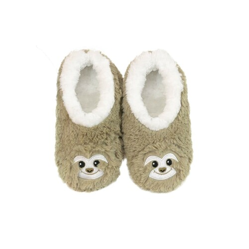 Slumbies Ladies Furry Foot Pals - Sloth