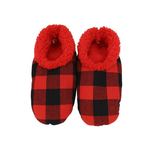Slumbies Men's Plaid - Red