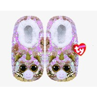 Beanie Boos Sequin Slipper Socks - Fantasia The Multicoloured Unicorn