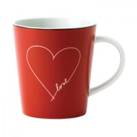 Ellen Degeneres By Royal Doulton - Mug - Signature White Heart