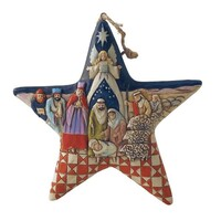 Heartwood Creek Classic - Nativity Star Hanging Ornament