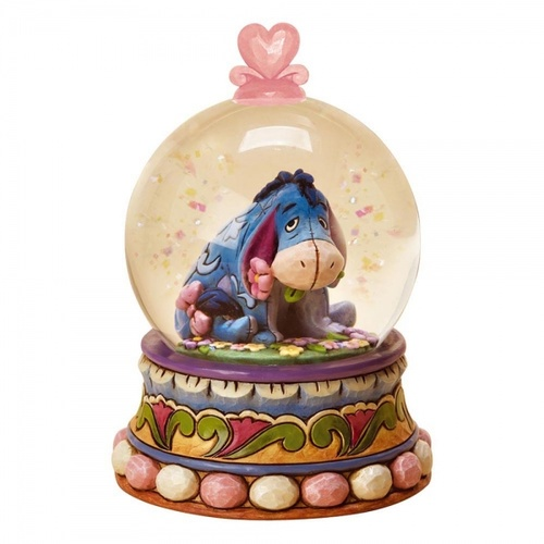 Jim Shore Disney Traditions - Eeyore Gloom to Bloom Waterball