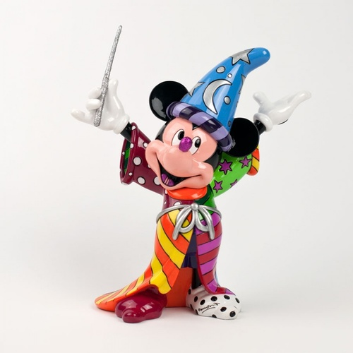 Disney Britto Sorcerer Mickey Mouse Figurine Large
