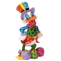 Disney Britto Uncle Scrooge Large Figurine