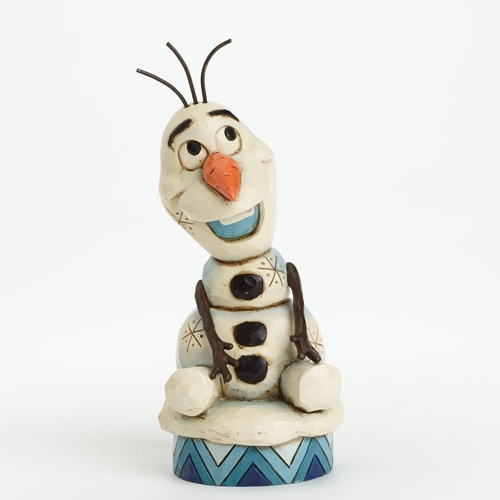 Jim Shore Disney Traditions - Olaf from Frozen Figurine