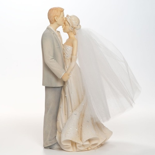 Foundations Bride and Groom Figurine