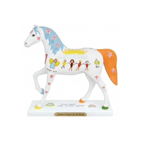 The Trail of Painted Ponies Childrens Prayer Figurine