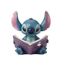Jim Shore Disney Traditions - Stitch with Story Book Figurine