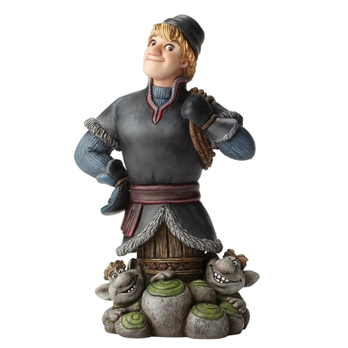 Disney Showcase Grand Jester Studios - Kristoff with Trolls Figurine