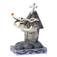 Jim Shore Disney Traditions - Zero and Dog House Figurine