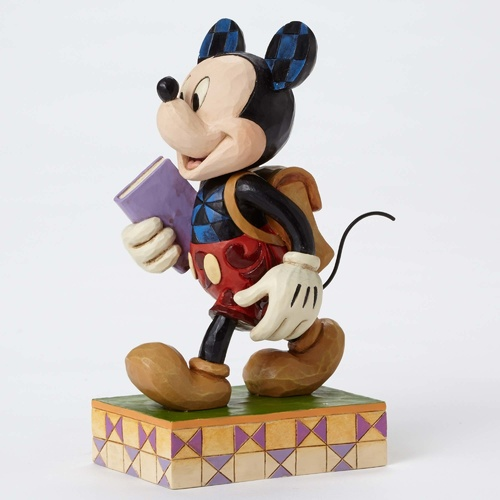 Jim Shore Disney Traditions - Mickey Mouse - Eager to Learn Figurine