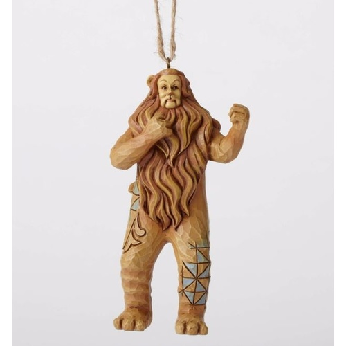 Jim Shore Wizard of Oz Hanging Ornament - Cowardly Lion