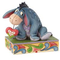 Jim Shore Disney Traditions - Eeyore Love Personality Pose Figurine