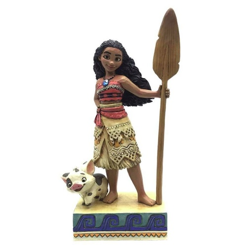 Jim Shore Disney Traditions - Moana Find Your Own Way Figurine
