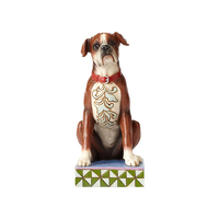 Jim Shore Heartwood Creek Dog Collection - Bruno the Boxer