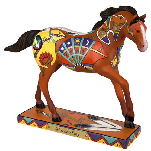 The Trail Of Painted Ponies Spirit Bear Pony Figurine