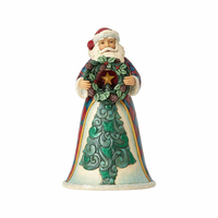 Heartwood Creek Classic - Wonderland Santa with Wreath