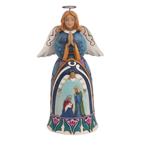 Heartwood Creek Classic - Mini Nativity Standing Angel