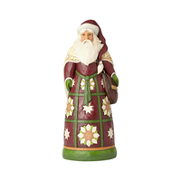 Heartwood Creek Classic - Santa with Satchel Statue
