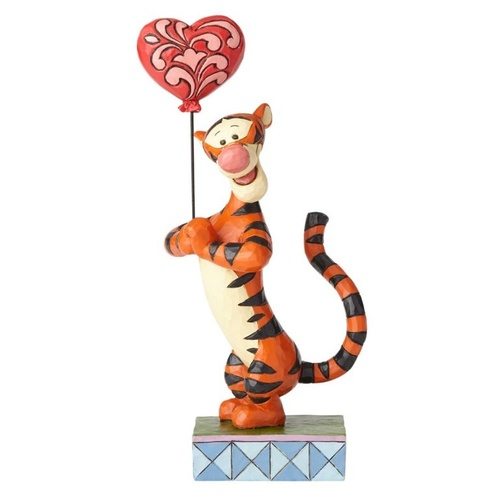 Jim Shore Disney Traditions - Tigger with Heart Balloon Figurine