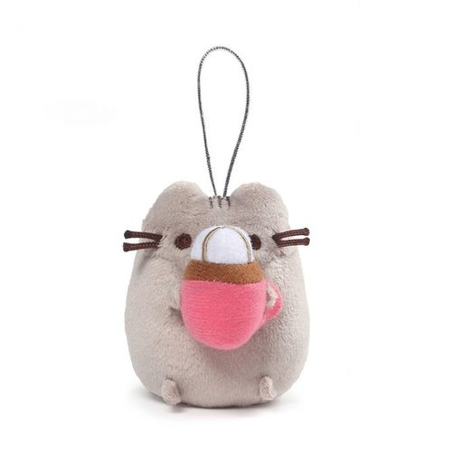 Pusheen Surprise Plush Ornament Series 8 - Pusheen with Hot Cocoa