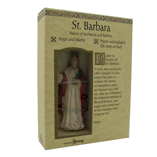 Roman Inc - Saint Barbara - Patron of Architects and Builders