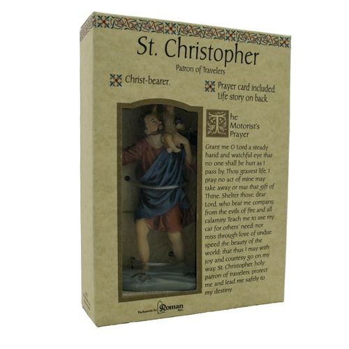 Roman Inc - Saint Christopher - Patron of Travelers