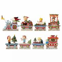 Peanuts by Jim Shore - Train Gift Set (Set of 8)