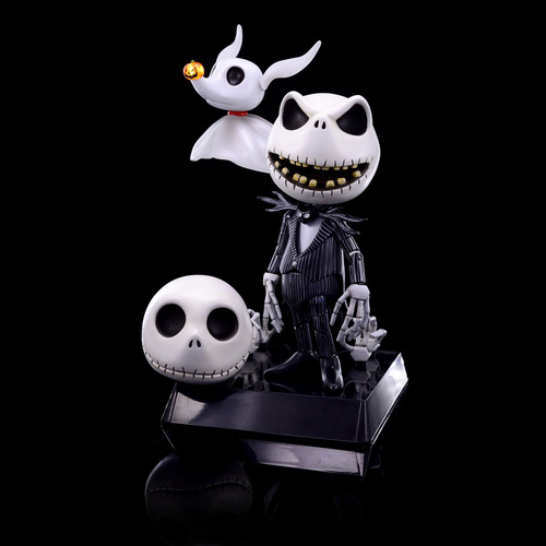 Herocross Hybrid Metal Figure #008 NBX Jack Skellington and Zero