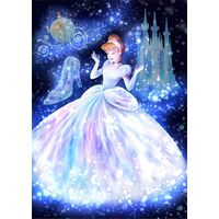 Tenyo Puzzle 266pc - Disney Cinderella Wrapped in Magic Light