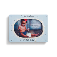 Demdaco Baby 1st Birthday Photo Frame - Best Year Ever