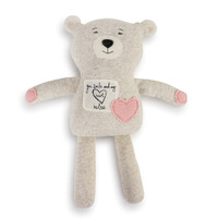 Demdaco Baby - Poetic Threads Stuffed Bear - Girl