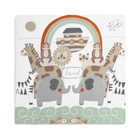 Demdaco Baby - Noah's Ark Photo Swaddle