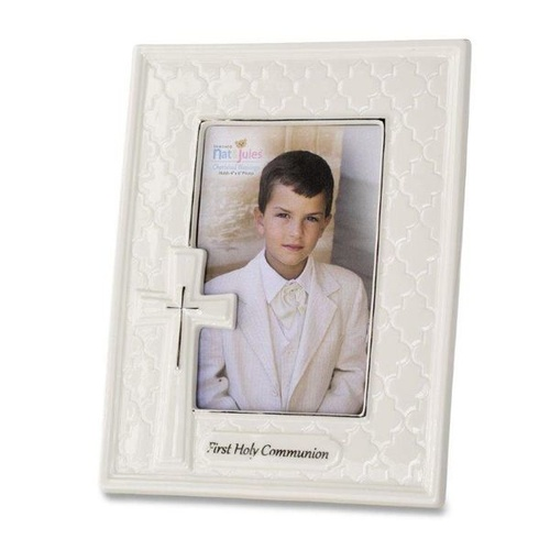 Nat & Jules Cherished Blessings - First Holy Communion Photo Frame