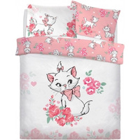 Disney Aristocats Quilt Cover Set - Double - Marie Oh Laa Laa