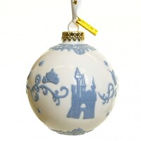 English Ladies Cinderella Ornament - White