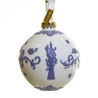 English Ladies Rapunzel Ornament - White