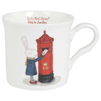 Ruby Red Shoes Mug - London Post Box