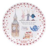 Ruby Red Shoes Cake Plate - London Big Ben
