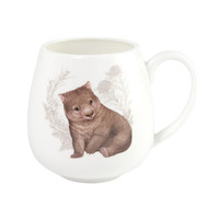 Little Aussie Friends Hug Mug - Wombat