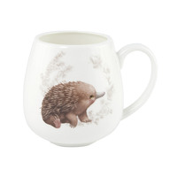 Little Aussie Friends Hug Mug - Echidna